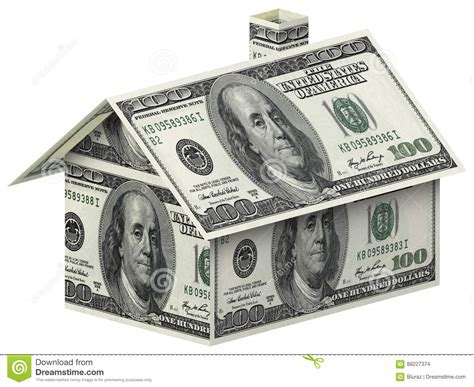 house made of 100 dollar bills stock photo image 88227374
