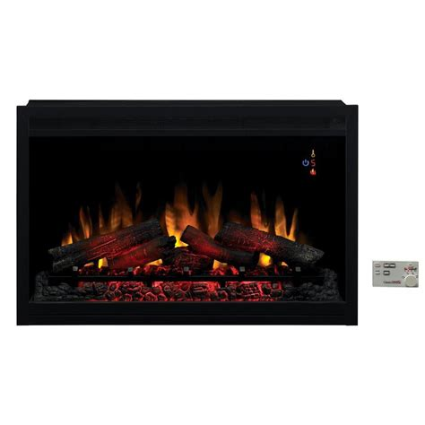 spectrafire 36 in traditional built in electric fireplace