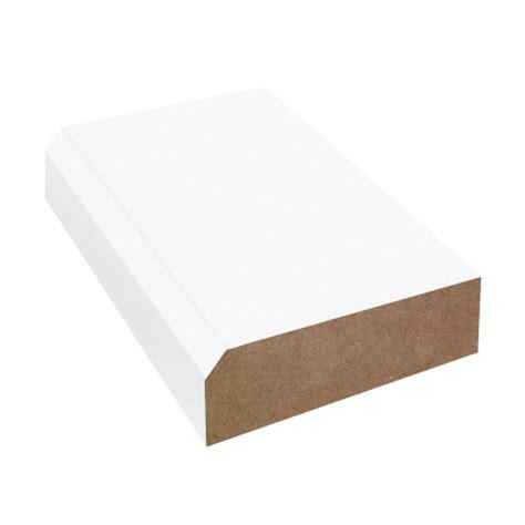 bevel edge laminate countertop trim brite white 459 58
