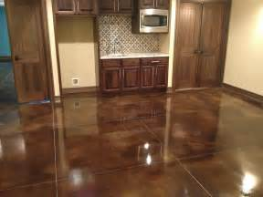 they create customized stained concrete polished concrete