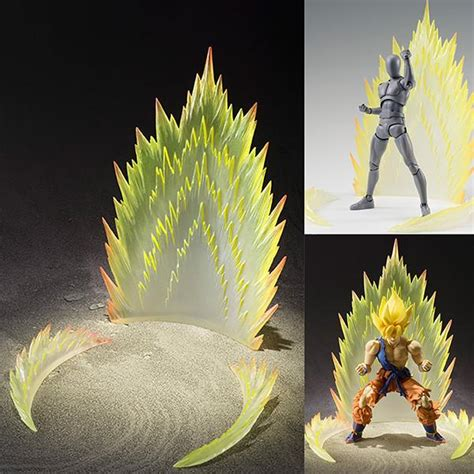 tamashii effect energy aura yellow ver for s h figuarts figure figure central