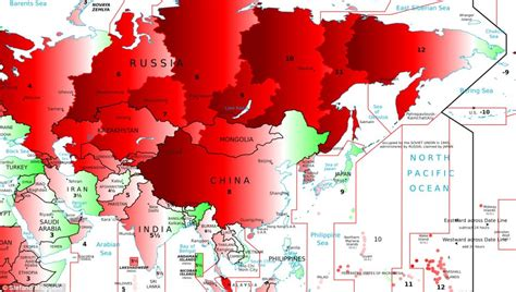 Lu Emergency Timezone amazing map reveals how far out you are from solar time onlinenigeria