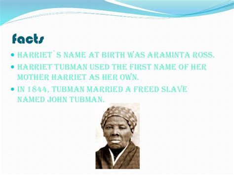 harriet tubman biography ppt harriet tubman