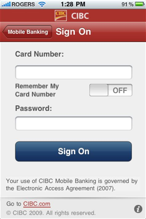 cibc launches mobile banking app for iphone | iphone in