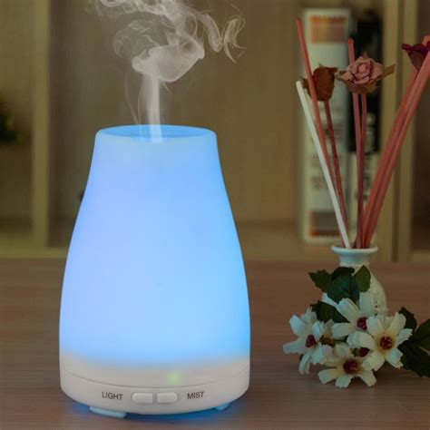 Essential Aroma Diffuser Humidifier 7 Led Color Nig Murah ultrasonic humidifier aromatherapy diffuser cool mist
