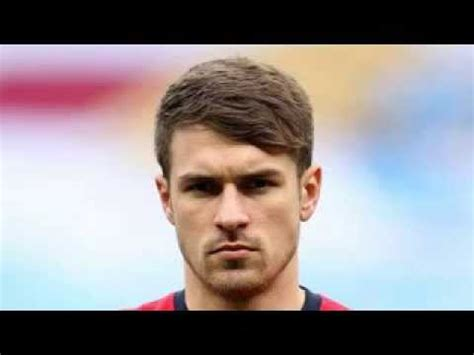 aaron ramsey hairstyle 2014 aaron ramsey hairstyle youtube