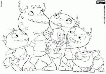 imagenes para colorear henry monstruito familia de henry monstruo 53393eb55e2b5 p gif 359 215 250