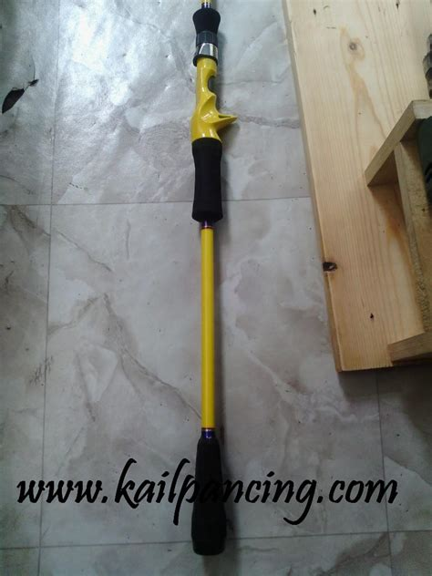 model joran custom rod bc kail pancing dot