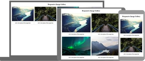 photo gallery template html css image gallery