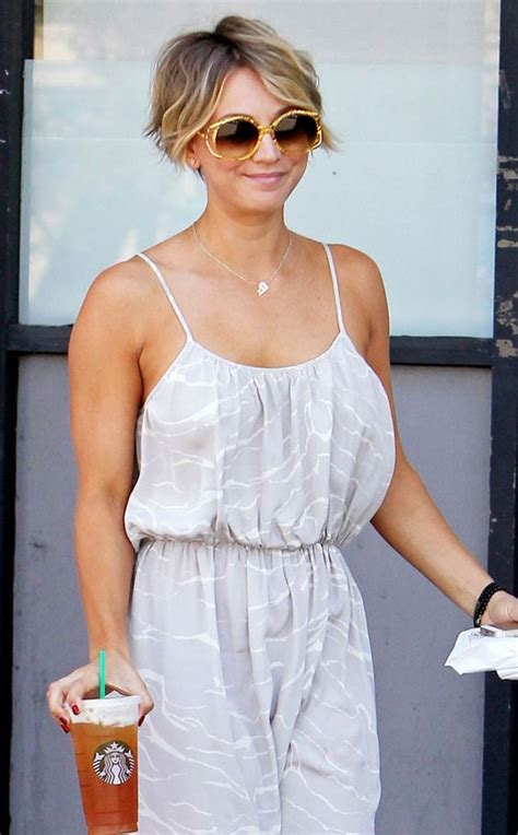 why did kaley christine cuoco sweeting cut her hair kaley cuoco e online and shorts on pinterest
