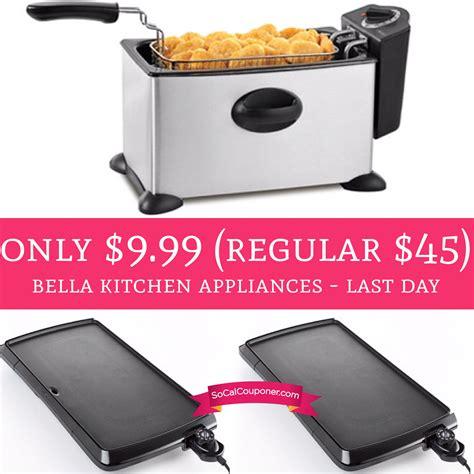 bella kitchen appliances last day only 9 99 regular 45 bella kitchen
