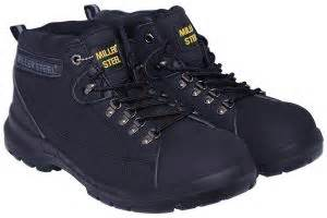 Sepatu Caterpillar Pawn Steel Toe Black 100 Boot Safety Ujung Besi souq miller steel black safety boot for uae