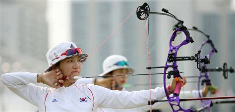 Browny Korean Bow White incheon asiangames archery 13 incheon asian 2014 arc flickr