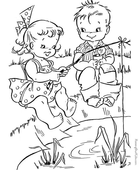 Fish Coloring Book Pages Coloring Home Coloring Pages For Seniors