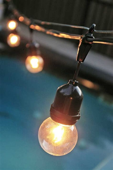 Outdoor Patio Hanging String Lights Description How To Hang Globe Lights Globe Lights Pinterest Outdoor Outdoor