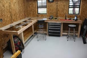Garage Workbench Design Need Workbench Ideas The Garage Journal Board An L