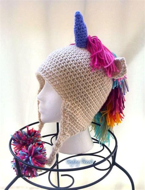unicorn hat crochet unicorn costume costume