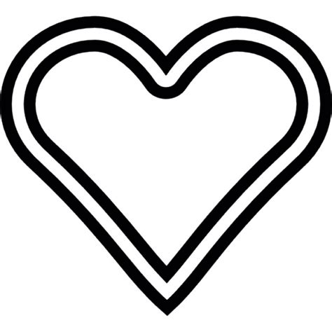 shapes outline free download heart shape outline icons free download