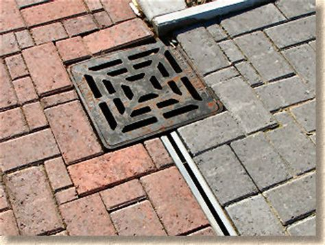 Patio Drainage Gully by Pavingexpert Drainage Channel Drainage Linear Drains