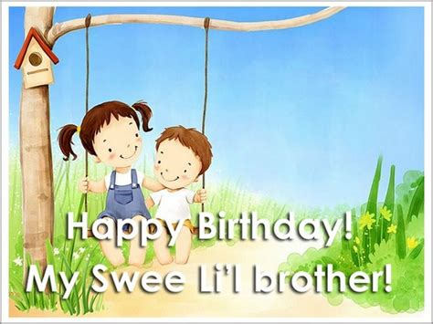 imagenes de happy birthday little brother 110 unique happy birthday greetings with images my happy