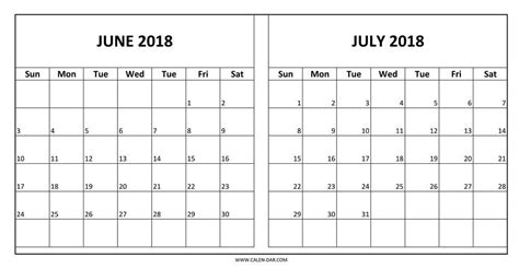 printable calendar july 2017 june 2018 june and july 2018 calendar printable journalingsage com