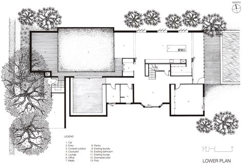 Interior Courtyard House Plans gallery of boston street house james russell architect 9