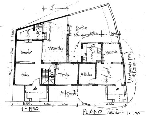 plan drawing building drawing plan modern house
