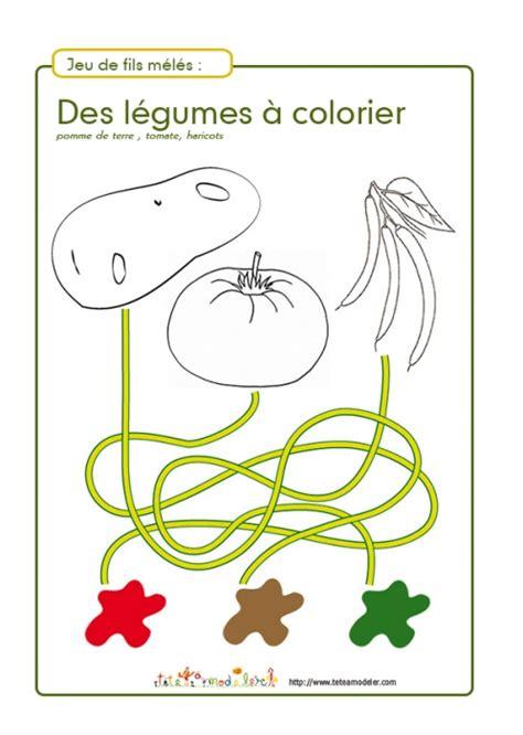 Jeux De Fil by Jeu De Fils M 233 L 233 S L 233 Gumes 224 Colorier N 176 2 Jeux T 234 Te 224 Modeler