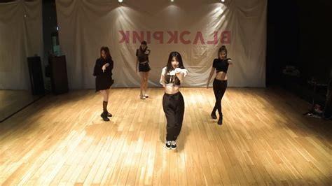 blackpink mirrored dance blackpink 마지막처럼 as if it s your last dance practice