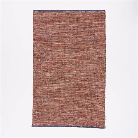 Rug Warp by Contrast Warp Wool Rug West Elm