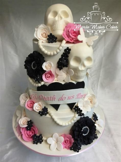 Hochzeitstorte Totenkopf skull wedding cake www imgkid the image kid has it