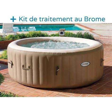 Intex Spa Gonflable 646 by Spa Gonflable Intex 4 Personnes 120 Diffuseurs Achat