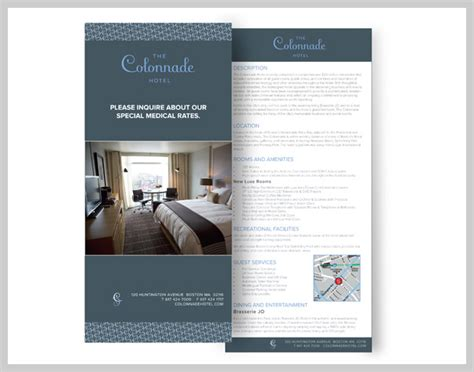 uprinting rack card template hotel rack cards simple content and design tips uprinting