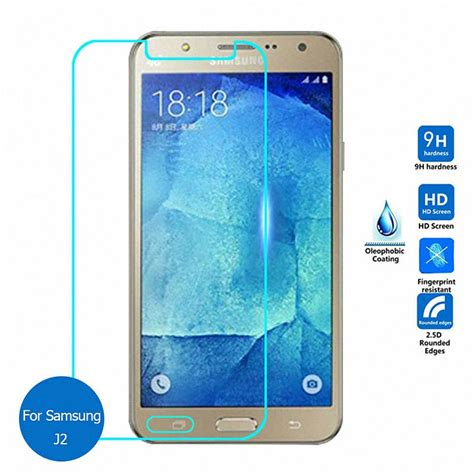 Tempered Glass Samsung Galaxy J2 Protection Screen Guard Anti tempered glass screen protector for samsung galaxy j1