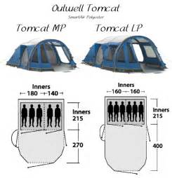Outwell Awning Outwell Tomcat Mp And Lp Inflatable Family Tents