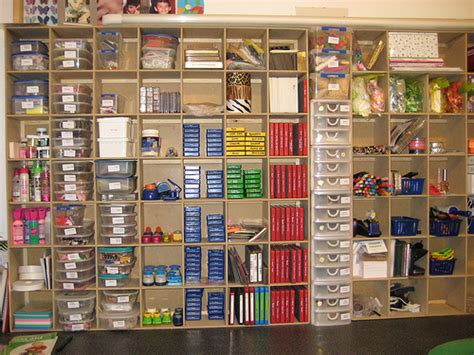 shelving for craft room my new craft room storage 2 flickr photo