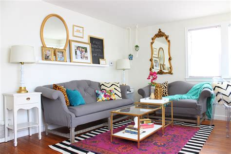 home living room living room refresh with jewel tones