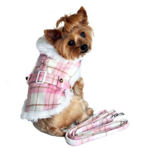 ebay yorkie coat teacup yorkie chihuahua maltese jacket with leash designer clothes ebay