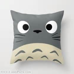 totoro kawaii my throw pillow 16x16 graphic print