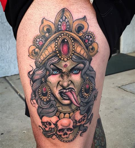 kali tattoo designs kali goddess of time best ideas designs