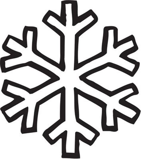 easy snowflake coloring pages best ideas about snowflake outline simple snowflake and