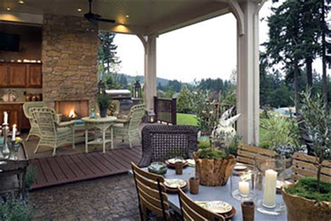 outdoor livingroom creating the outdoor living room the house designers