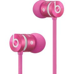 beats by dre headphones earbuds speakers accessories phunkeetree pink earbuds 9 97 liked on polyvore