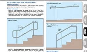 Stair Railing Code by Maintenance Mode