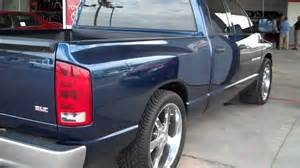 stk 3152 2006 dodge ram 1500 blue 22 inch rims