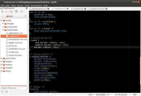 gedit color schemes top 10 gedit plugins for programmers sudobits free and