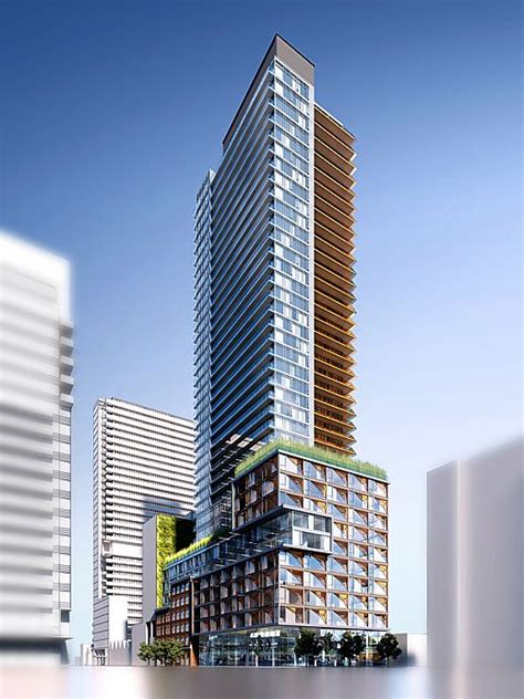 Toronto Condo Floor Plans by City Studying New Condo Tower Proposal For King Amp Spadina