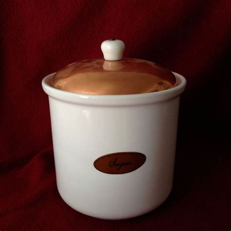 Kitchen Tea Coffee Sugar Canisters 23 best images about vintage copper plus on pinterest