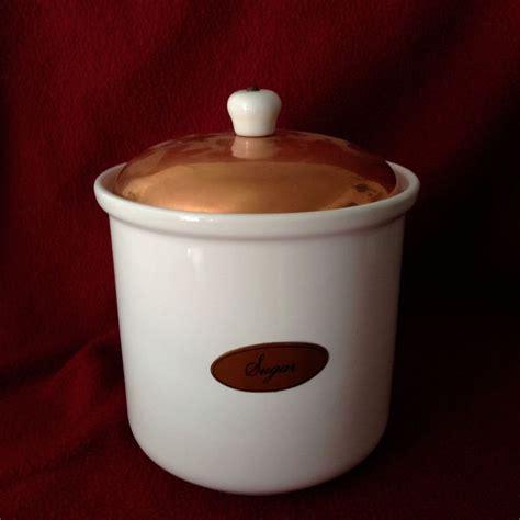 Ceramic Kitchen Canister Sets 23 Best Images About Vintage Copper Plus On Pinterest