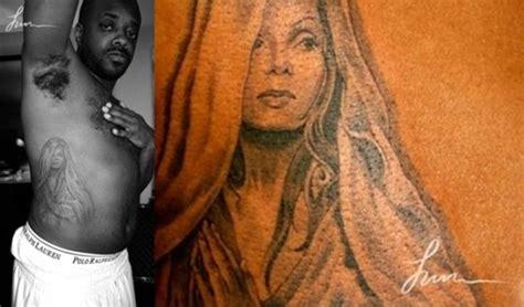 janet jackson tattoos sarai jones freddyo